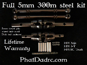 HPI LONG ARM full 5mm dowel pin kit. Works with Kraken and FLM.